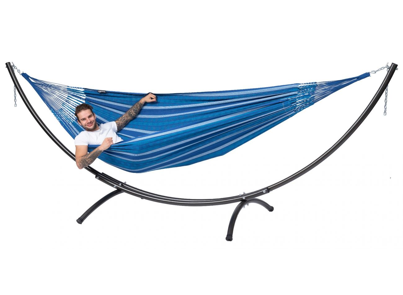Hammock with 2 Persons Stand Arc & Chill Calm