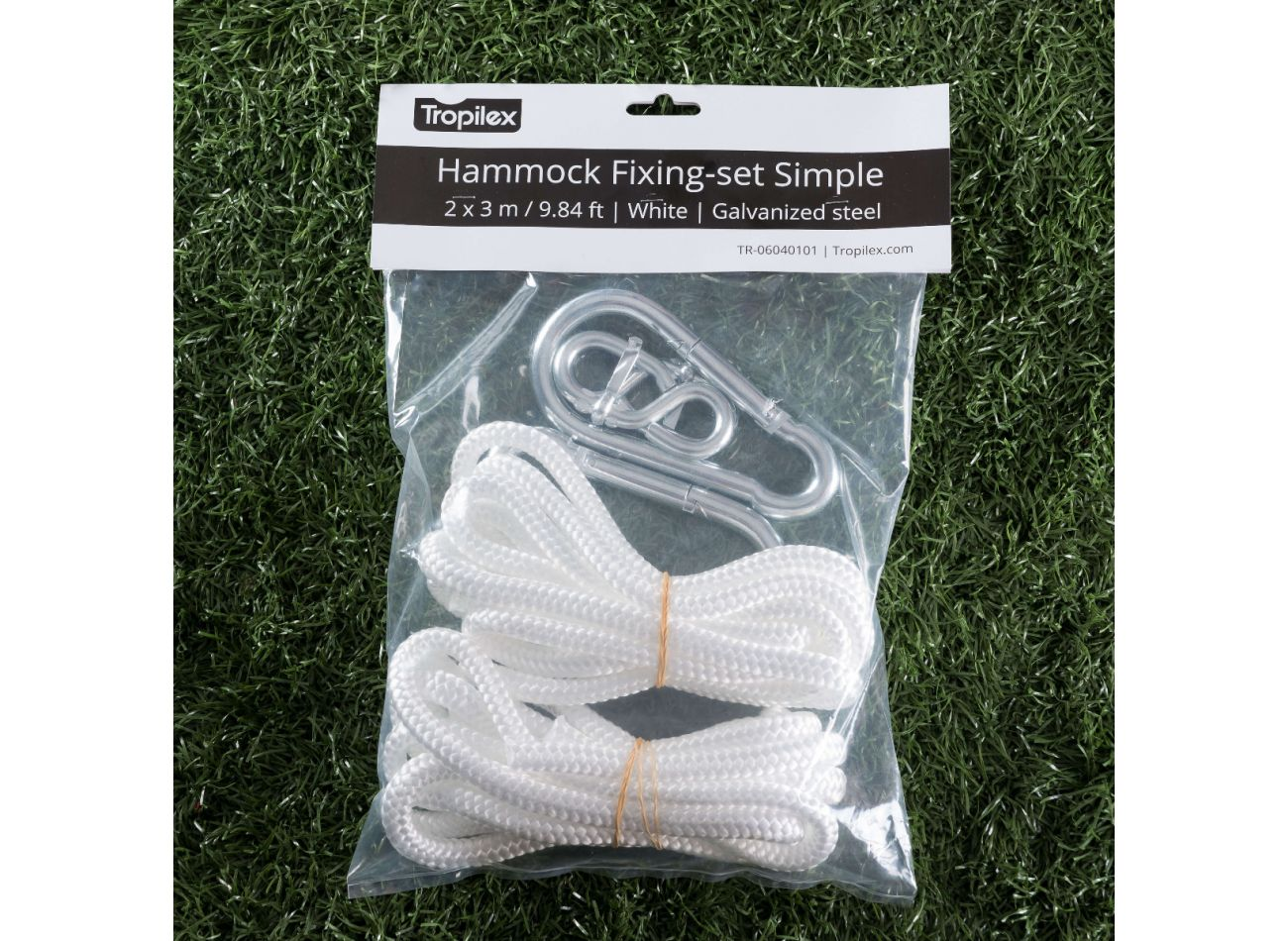 Hammock Mounting Simple White