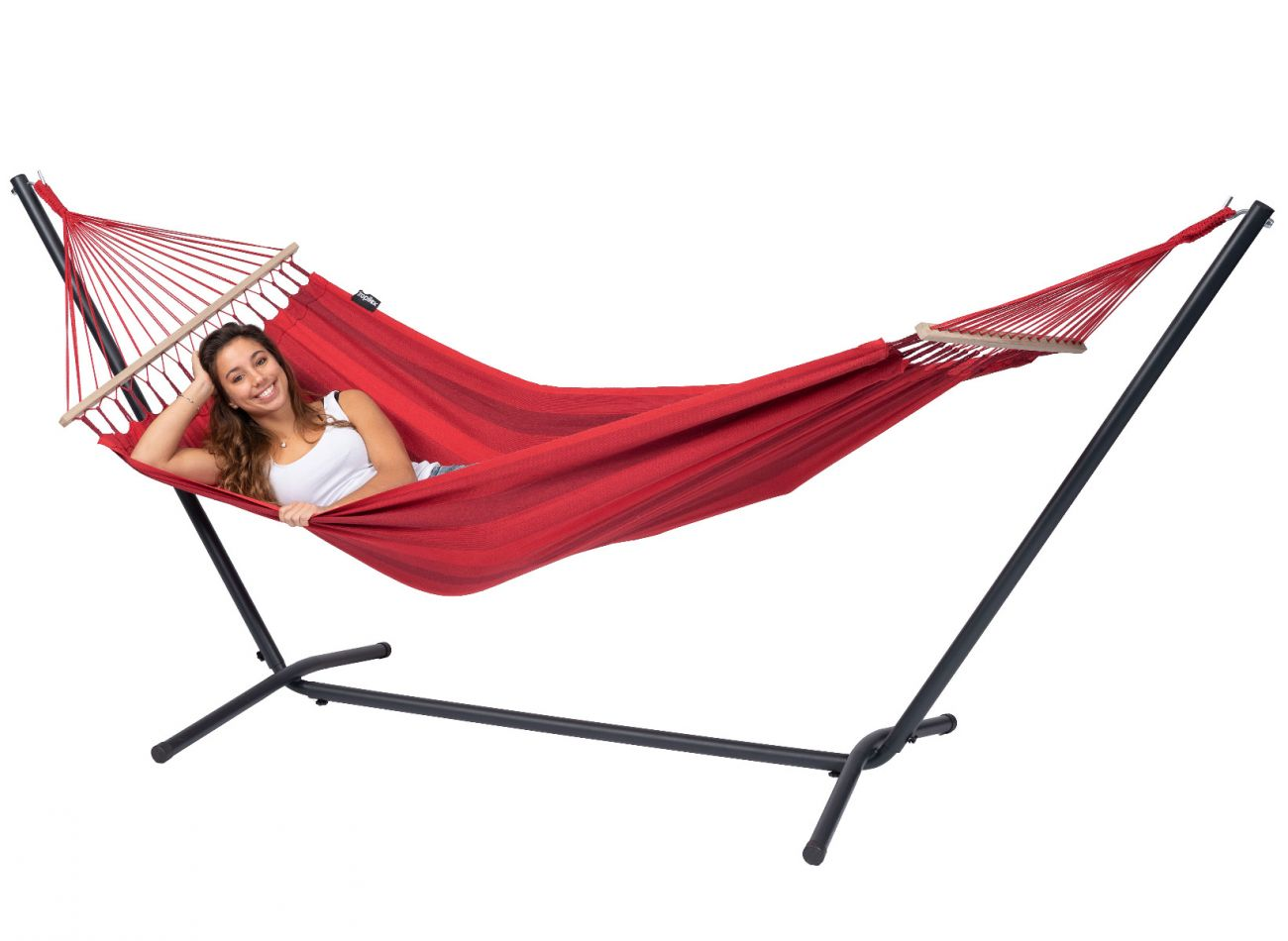 Hammock 1 Person Relax Red