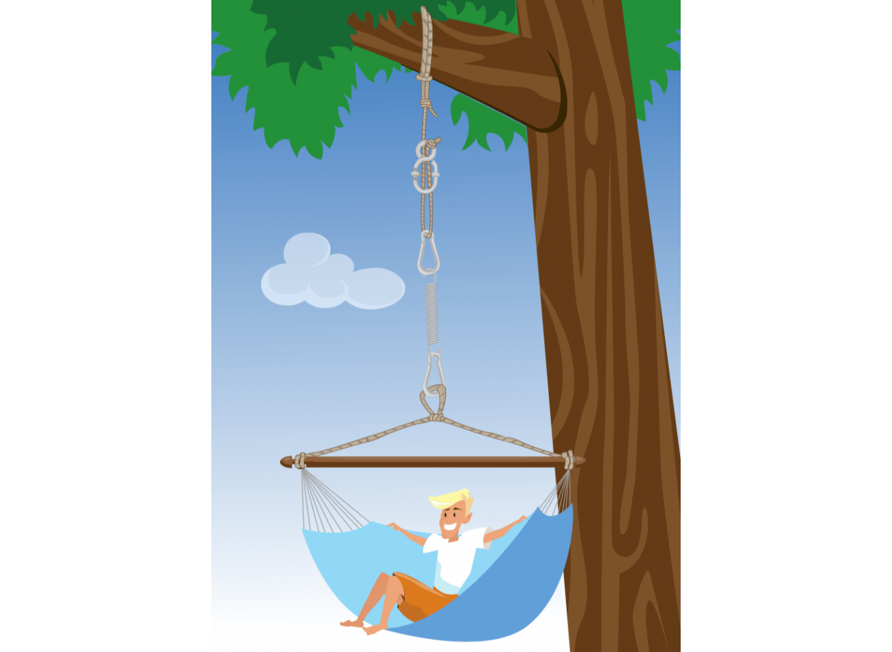 Hanging Chair Mounting Simple Black