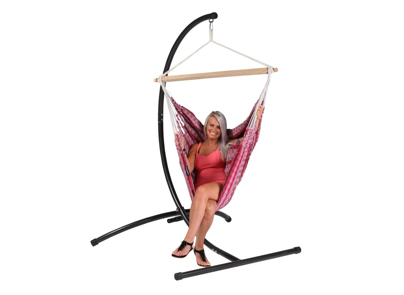 Hanging Chair 1 Person Premium Cherry