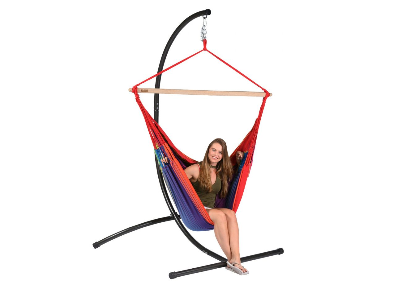 Hanging Chair 2 Persons Refresh Rainbow