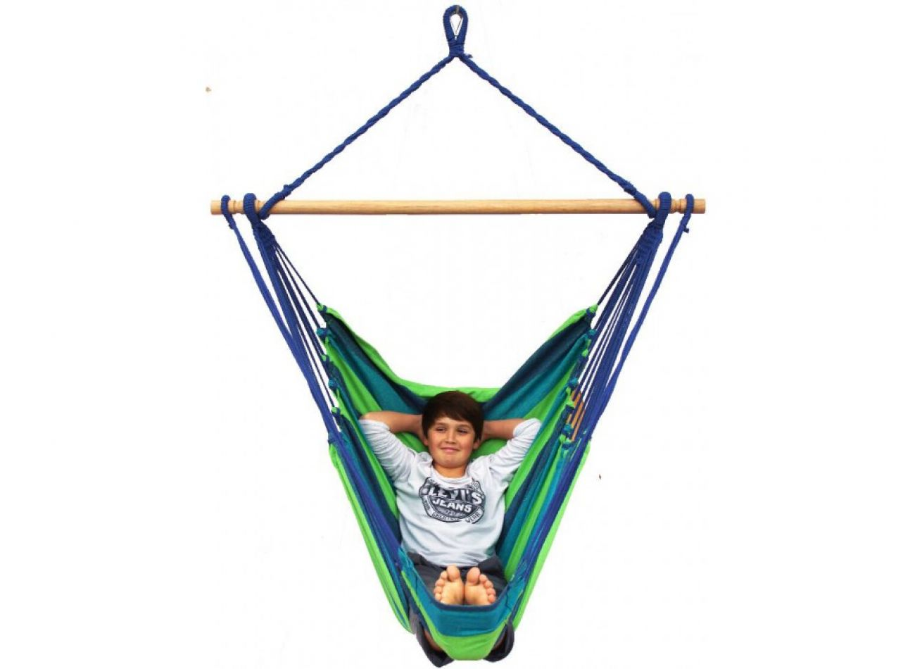 Hanging Chair 1 Person Tropical Pine Lounge