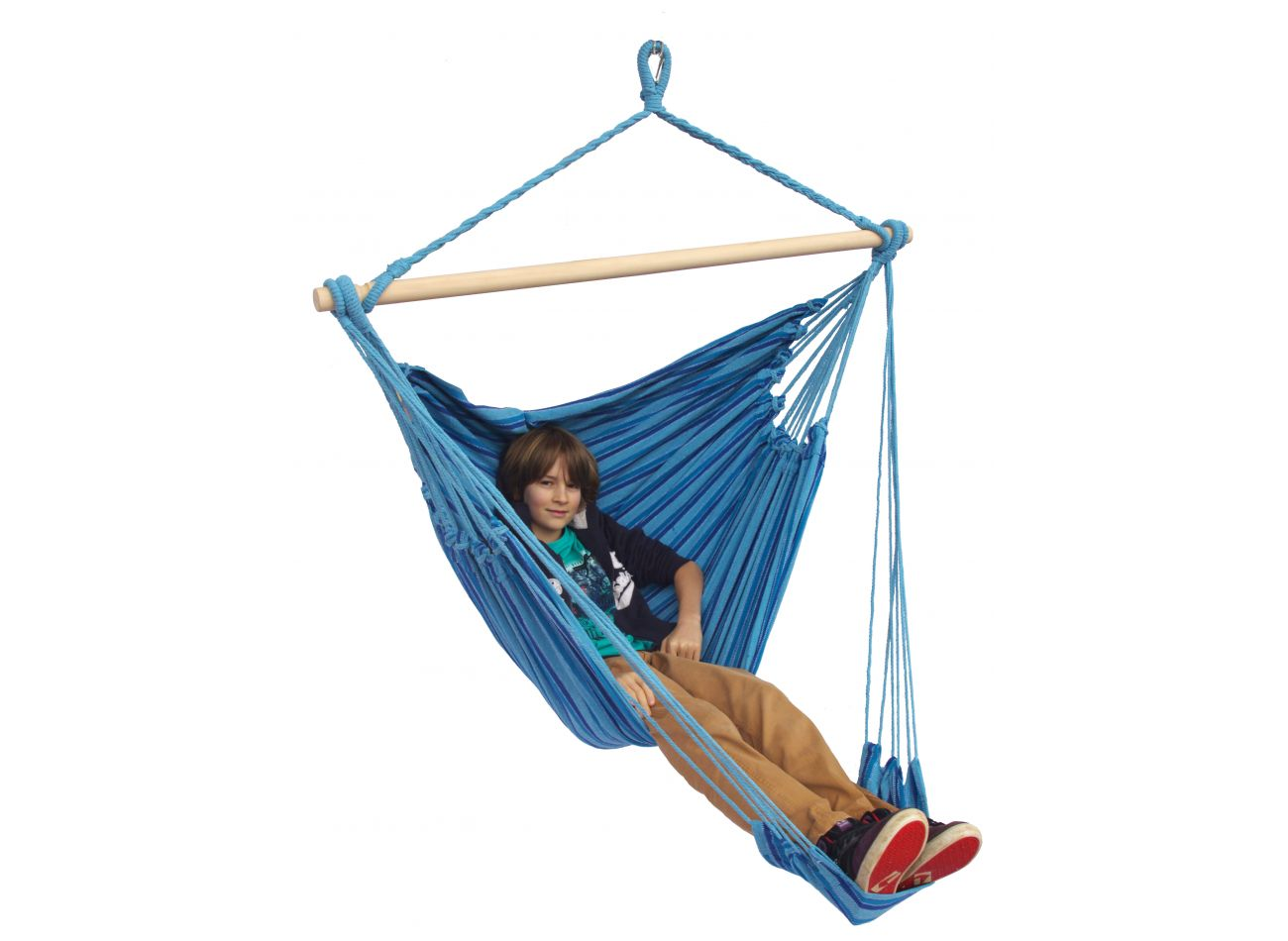 Hanging Chair 1 Person Tropical Ocean Lounge