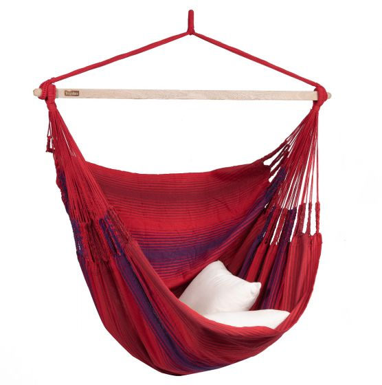 Hanging Chair 2 Persons Refresh Bordeaux