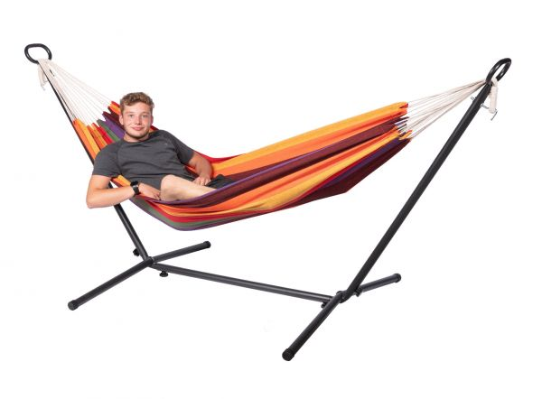 Hammock with 1 Person Stand Multi Single