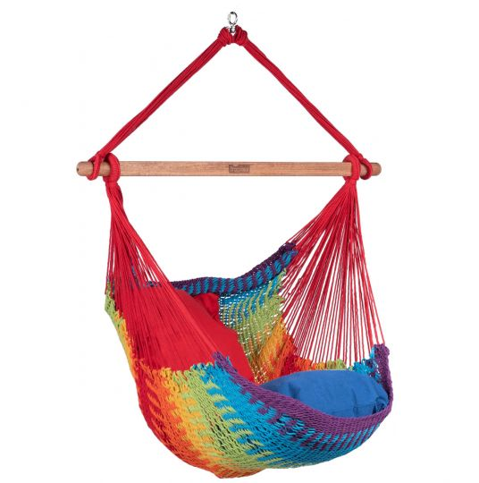 Hanging Chair 1 Person Mexico Rainbow