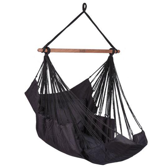 Hanging Chair 1 Person Sereno Black