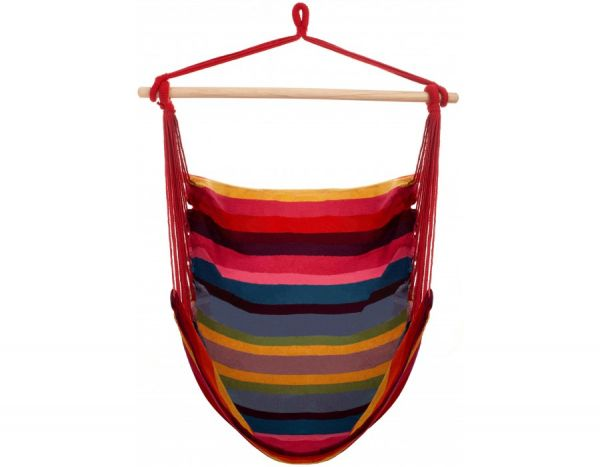 Hanging Chair 1 Person Trinidad Raspberry