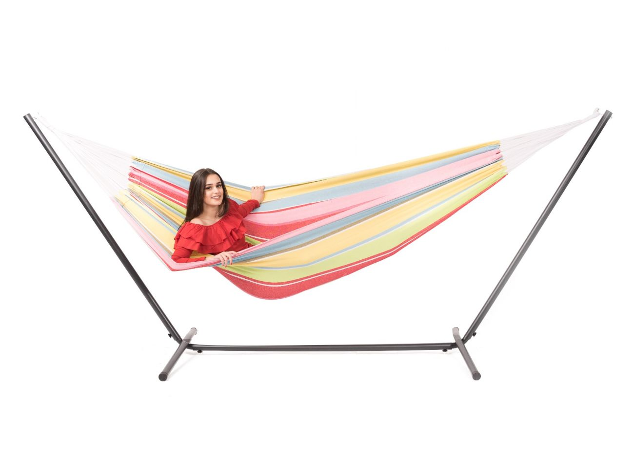 Hammock with 2 Persons Stand Easy & Barbuda Orient