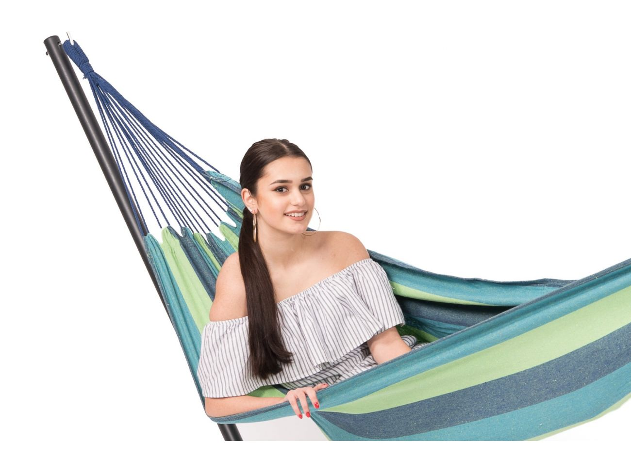 Hammock with 1 Person Stand Easy & Margarita Pine