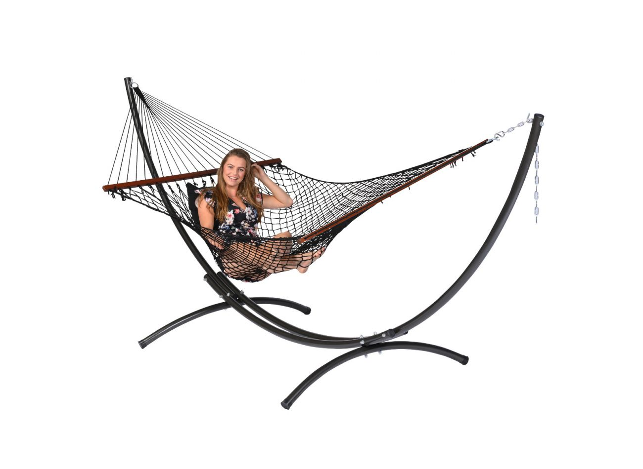 Hammock Family Rope Black