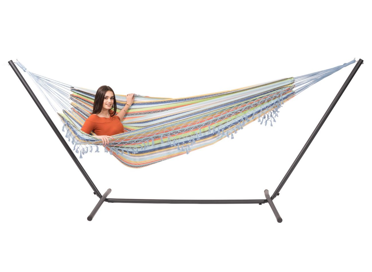Hammock with 2 Persons Stand Easy & Tortuga Izmir