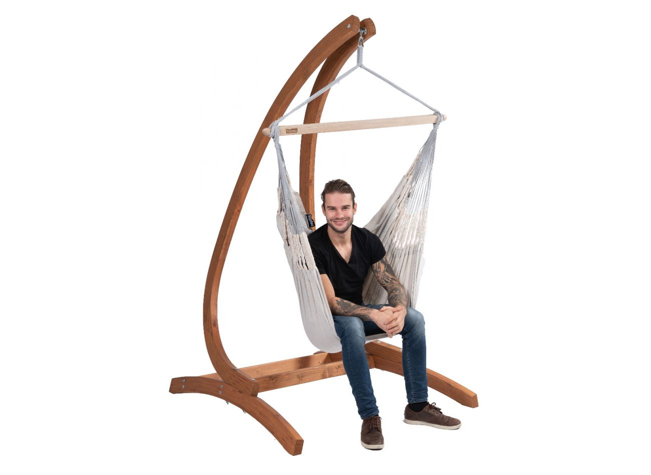Hanging Chair 1 Person Comfort Pearl