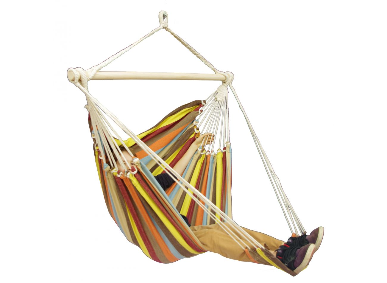 Hanging Chair 1 Person Tropical Autumn Lounge
