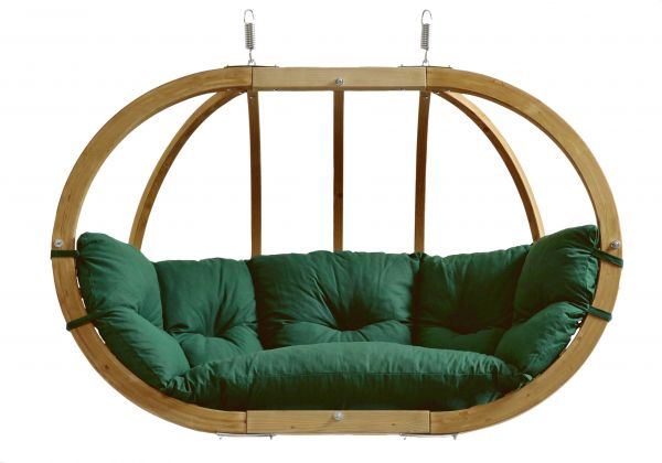Hanging Chair 2 Persons Globo Royal Weatherproof Green