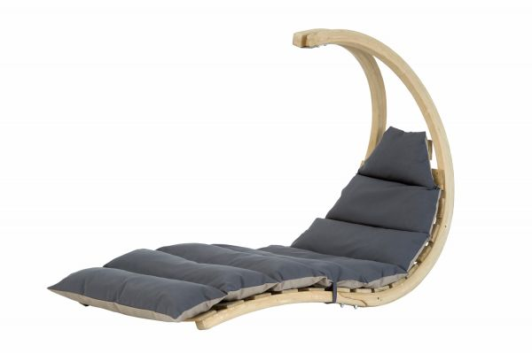 Hanging Chair 1 Person Swing Lounger Anthracite