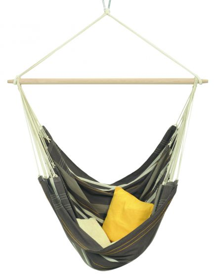 Hanging Chair 2 Persons Brasil Gigante Café