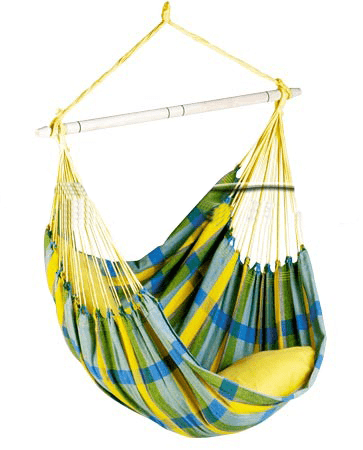 Hanging Chair 1 Person Brasil Lemon