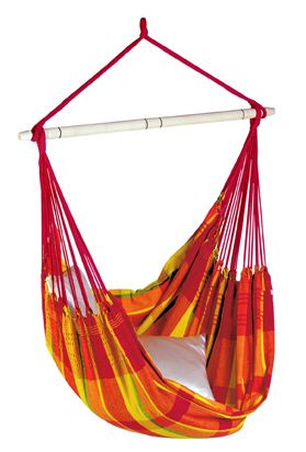 Hanging Chair 1 Person Brasil Papaya