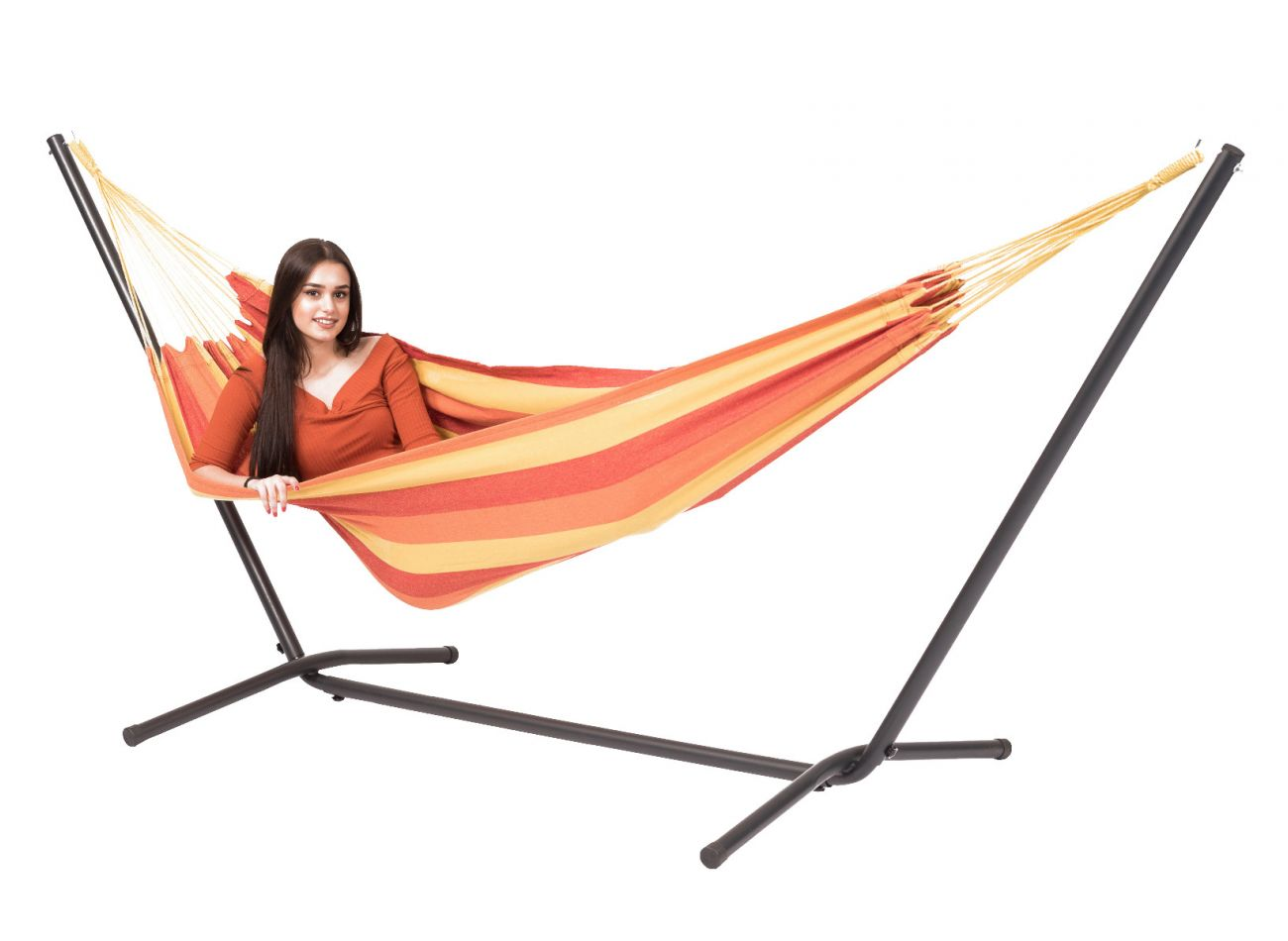 Hammock with 1 Person Stand Easy & Margarita Flame