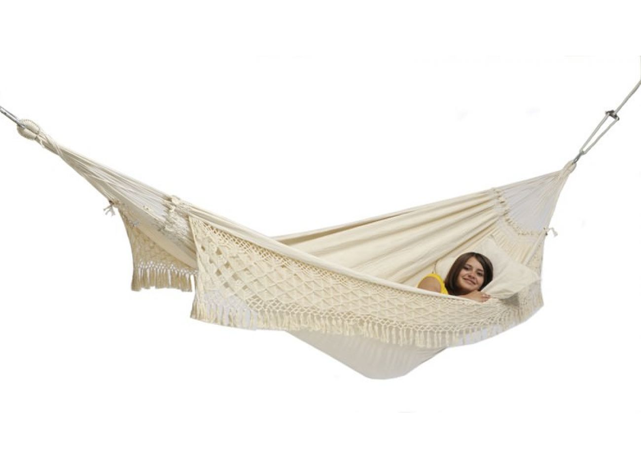 Hammock with Family Stand Wood & Rio Natura