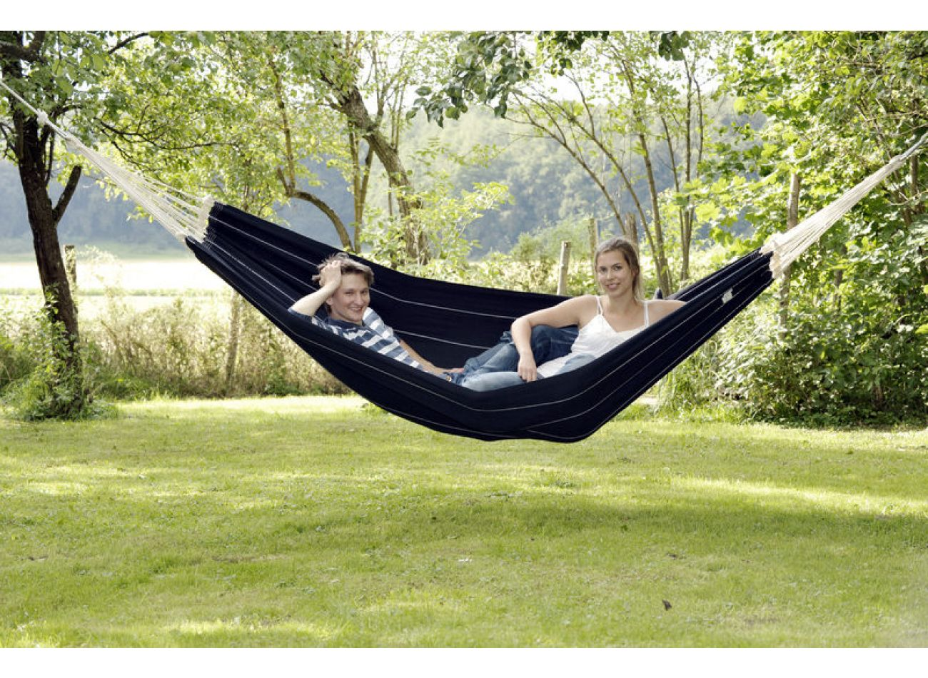 Hammock 2 Persons Barbados Black