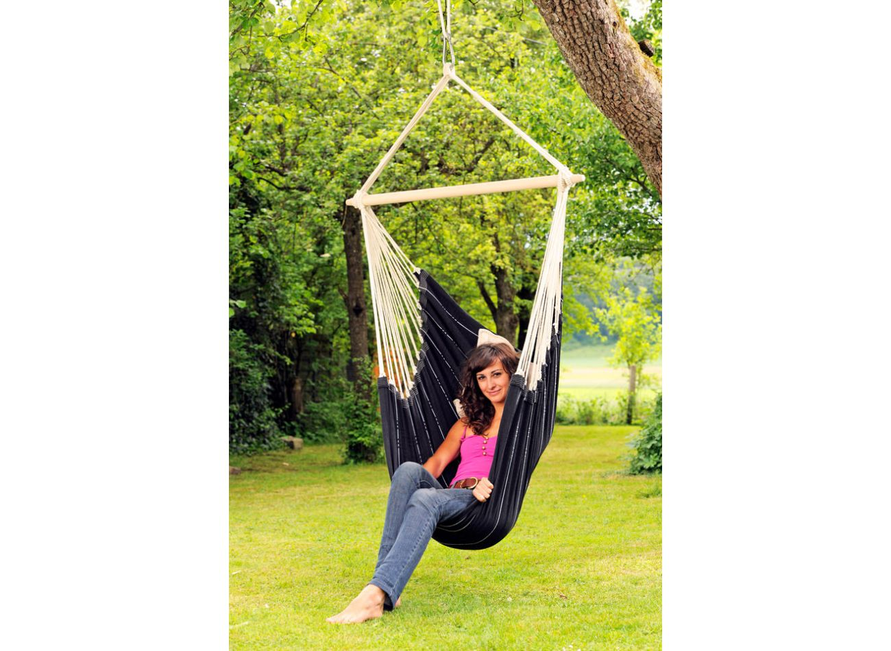 Hanging Chair 1 Person Brasil Black