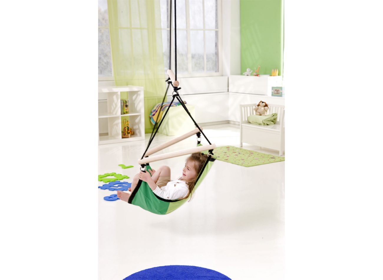 Hanging Chair Kids Swinger Green
