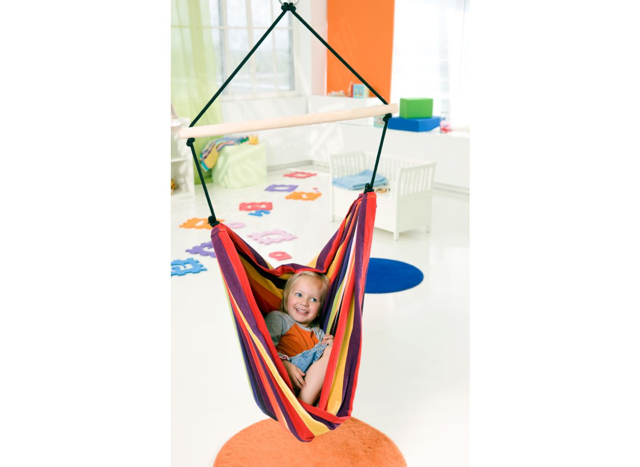 Hanging Chair Kids Relax Rainbow