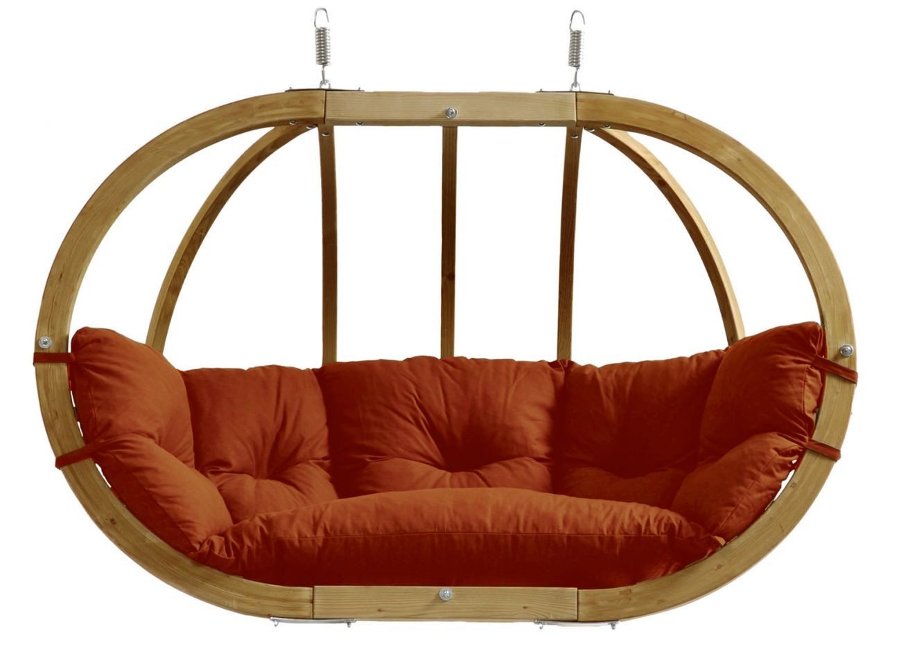 Hanging Chair 2 Persons Globo Royal Terracotta