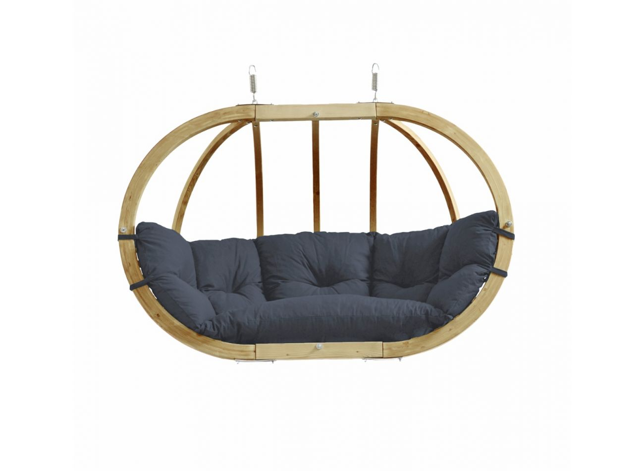 Hanging Chair 2 Persons Globo Royal Anthracite