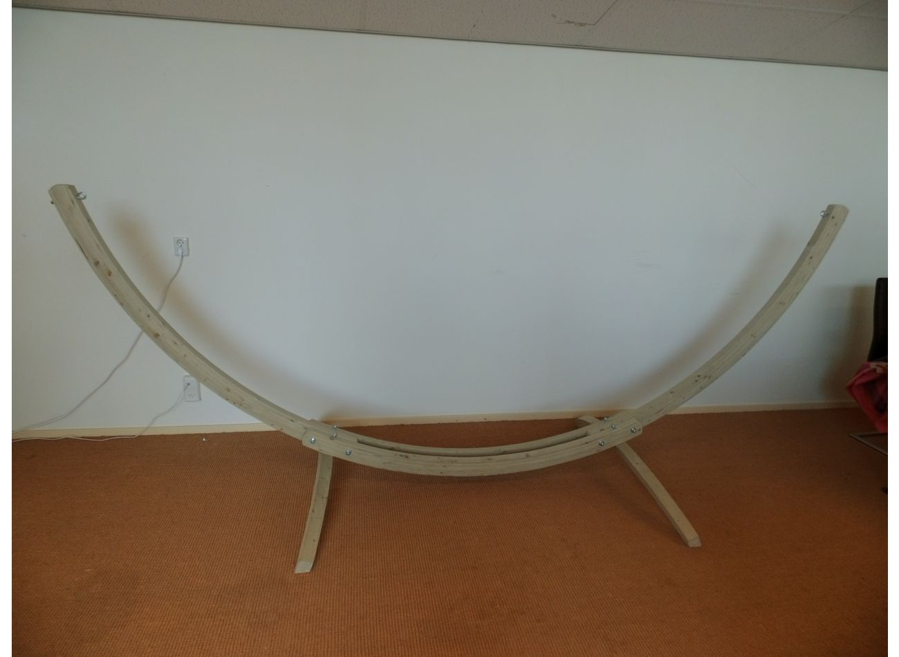 Hammock Stand 2 Persons Wood Second Chance