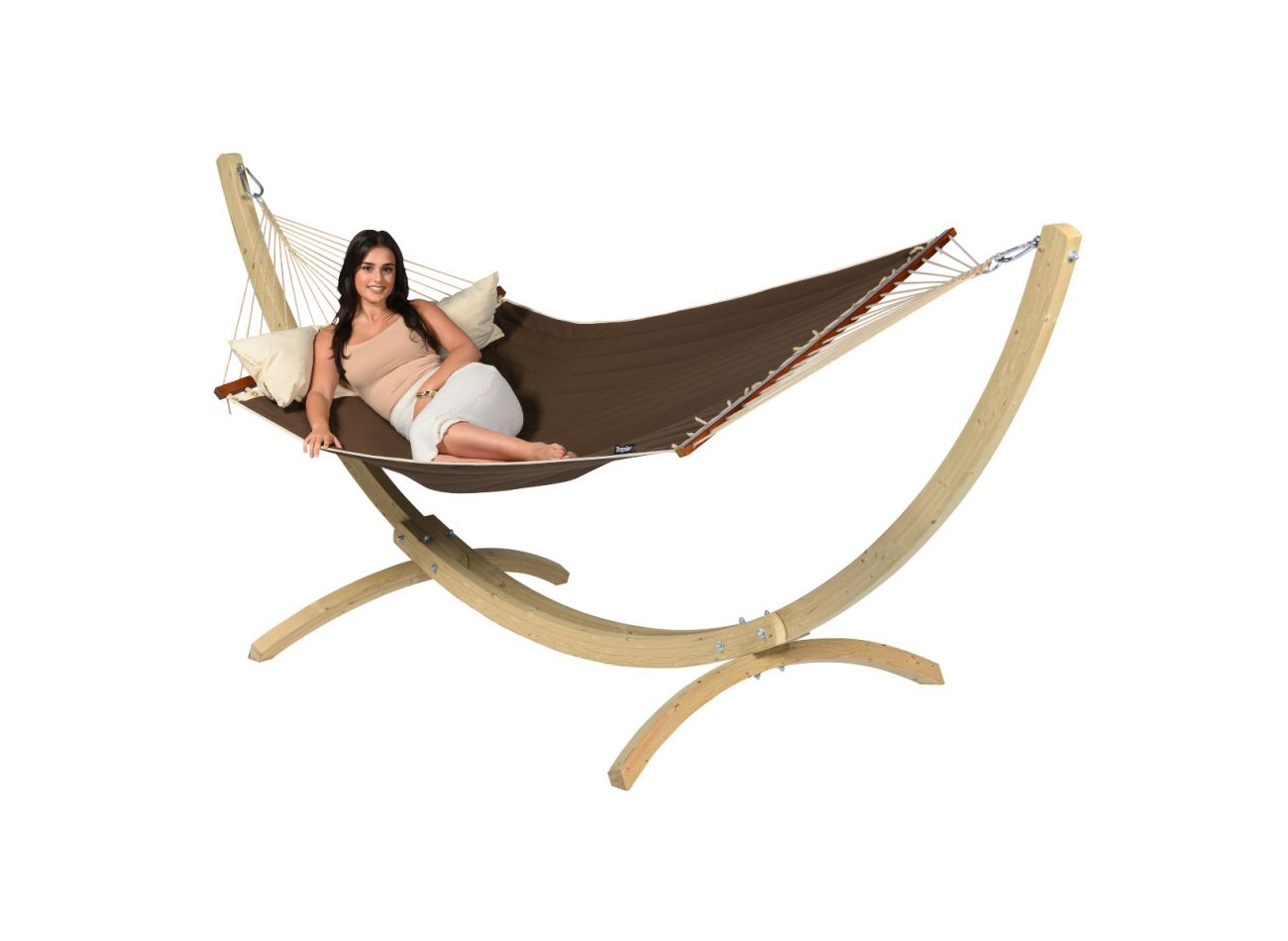 Hammock 2 Persons American Brown