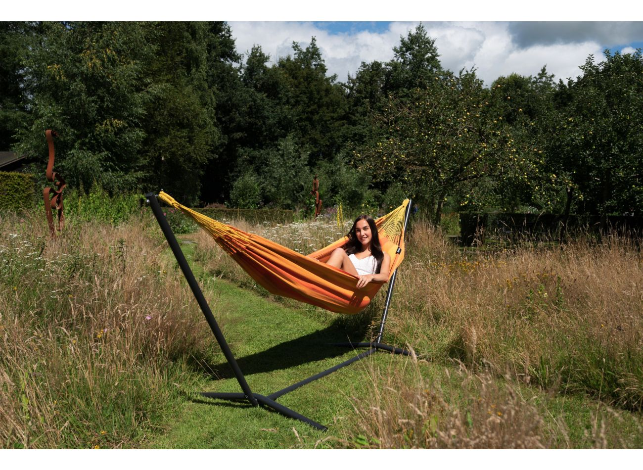 Hammock with 1 Person Stand Easy & Dream Orange