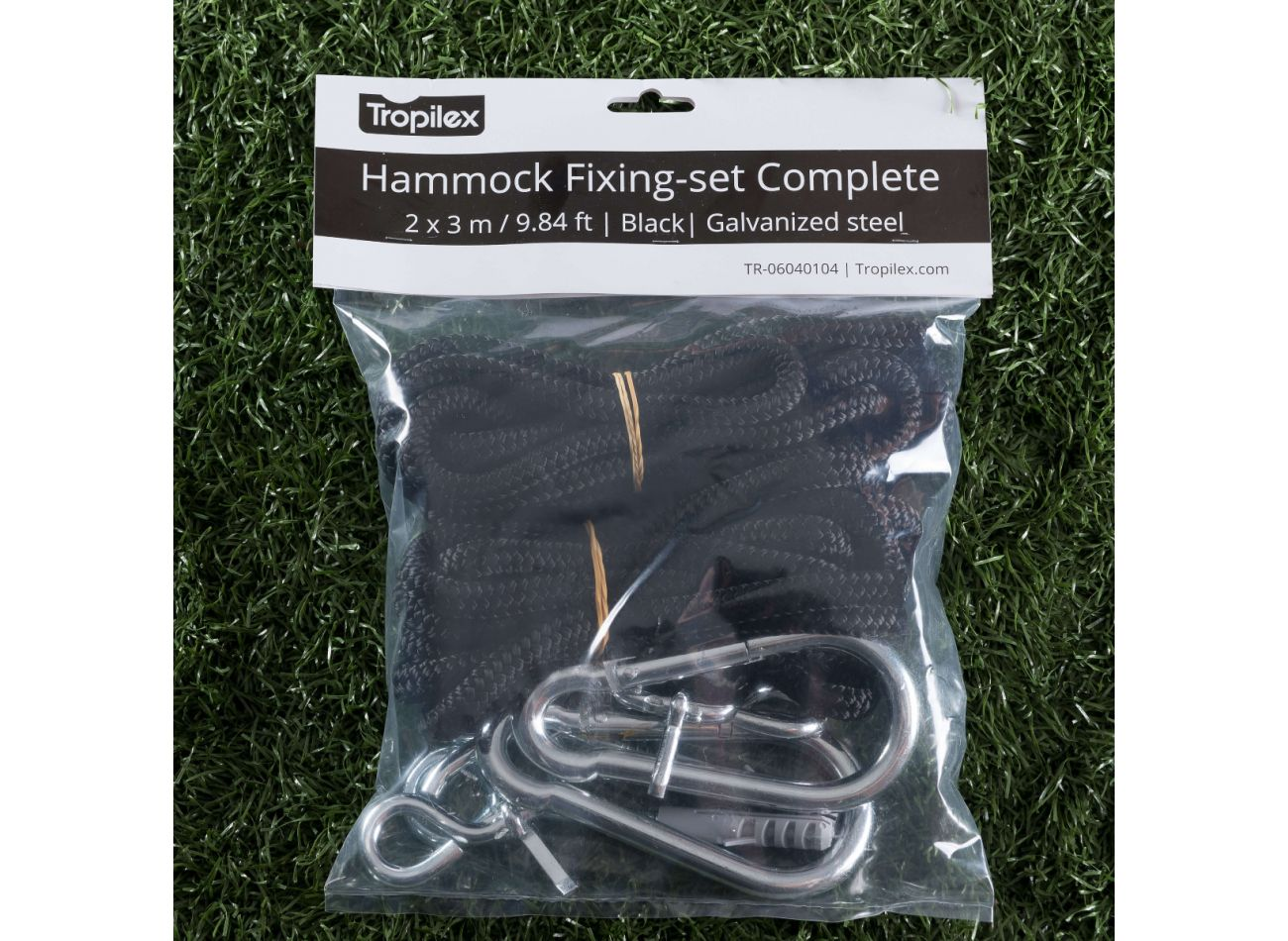 Hammock Mounting Complete Black