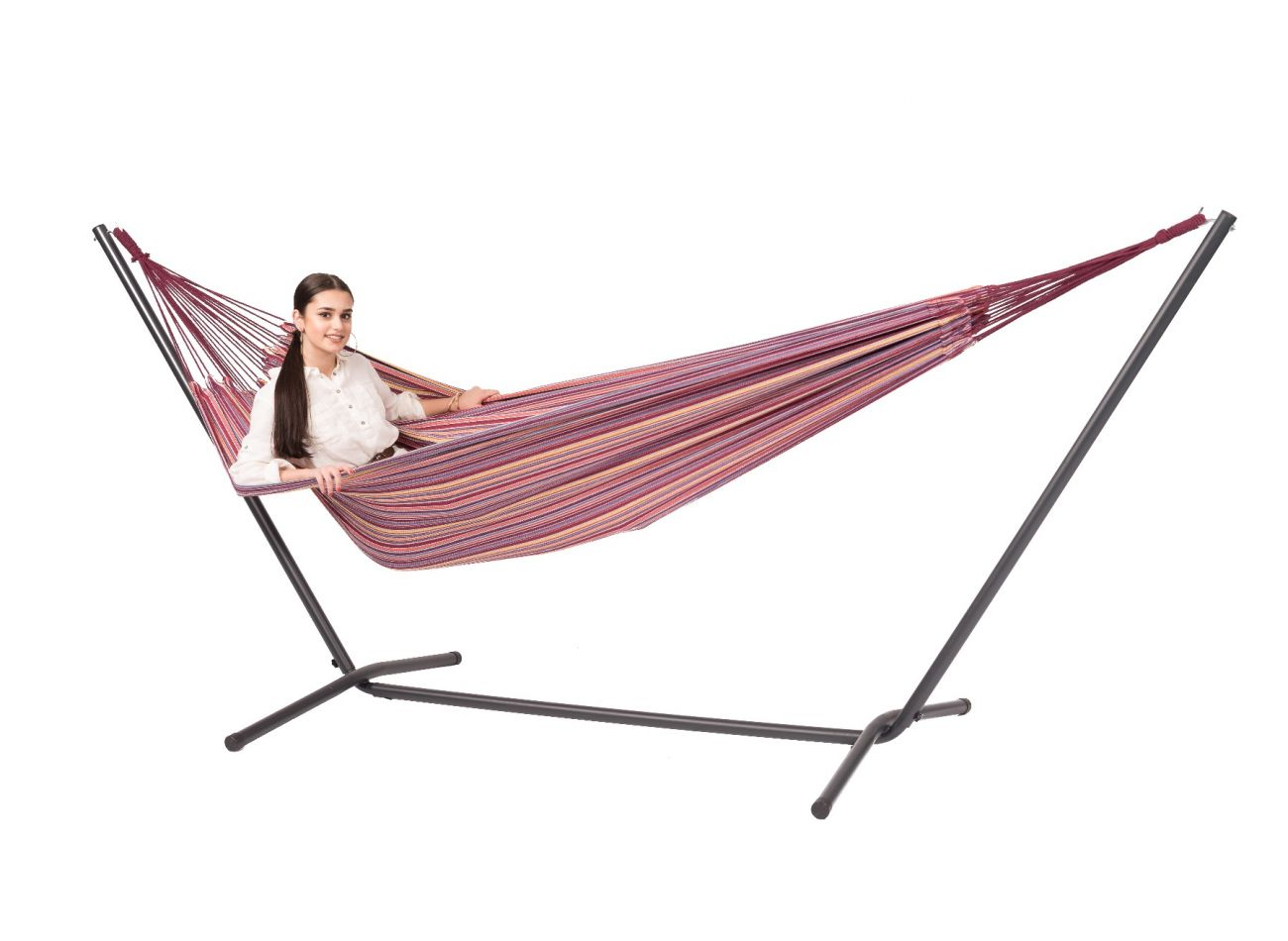 Hammock with 2 Persons Stand Easy & Barbuda Andalusia