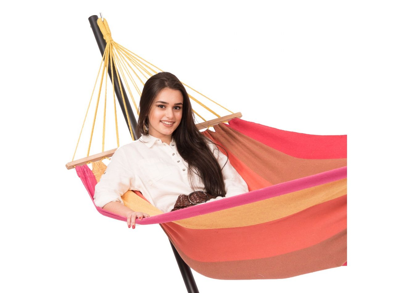 Hammock with 1 Person Stand Easy & Martinique Sunset