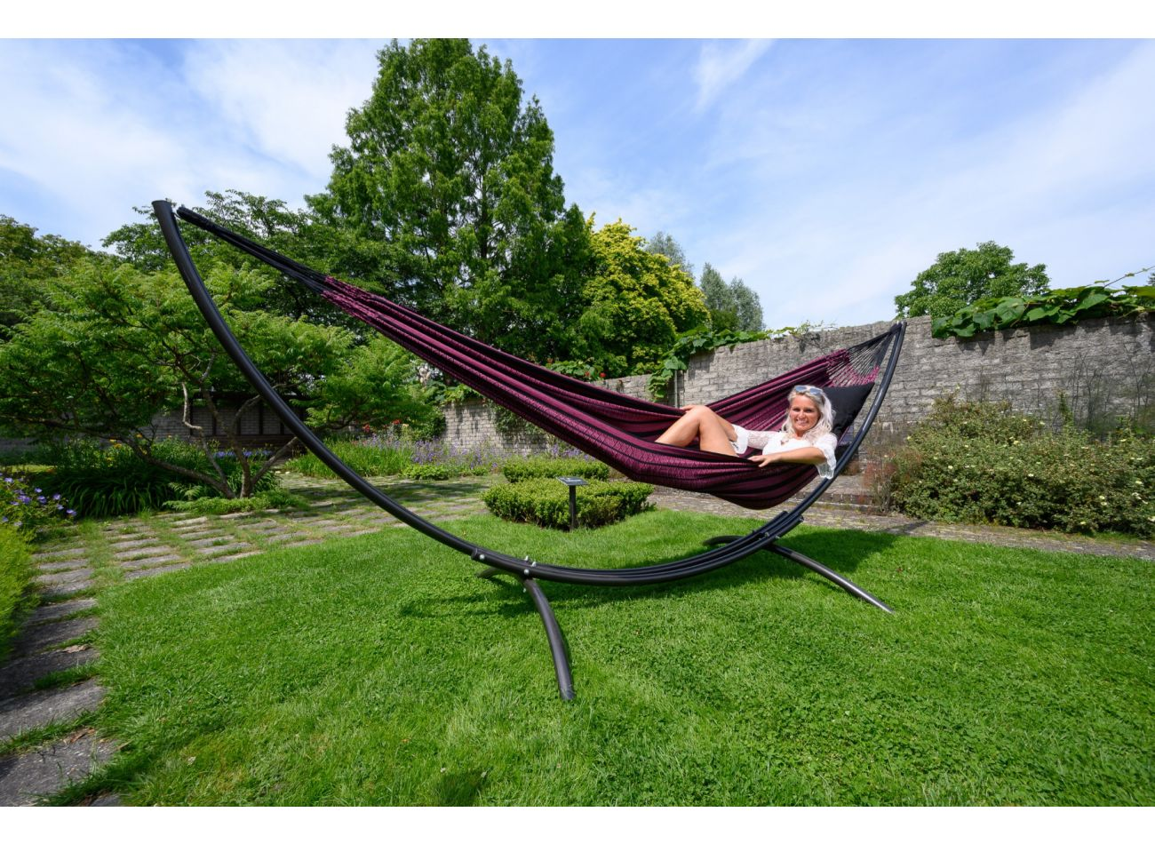 Hammock Stand Family Arc Second Chance