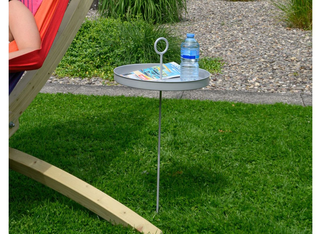 Hammock Table Silver