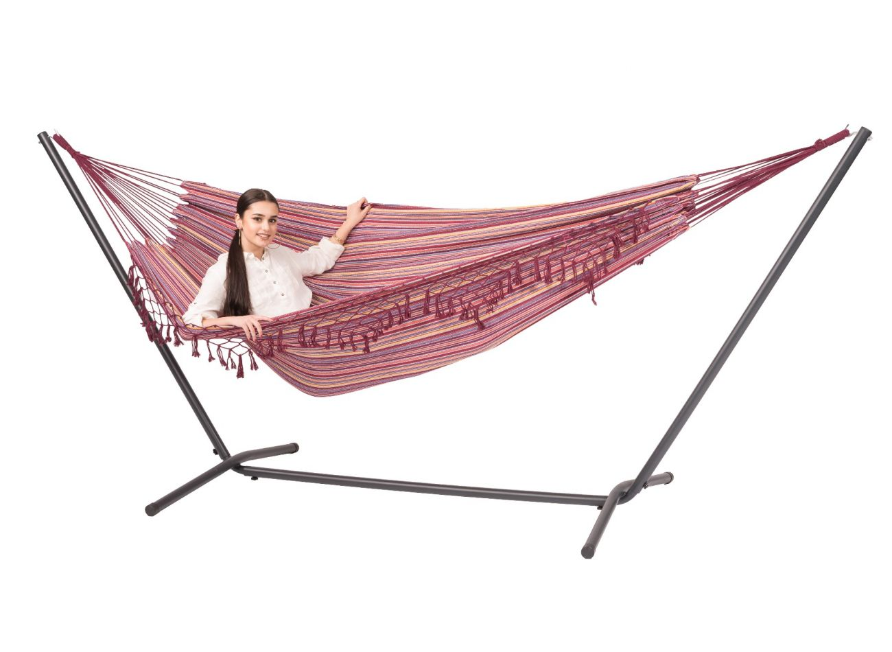 Hammock with 2 Persons Stand Easy & Tortuga Andalusia