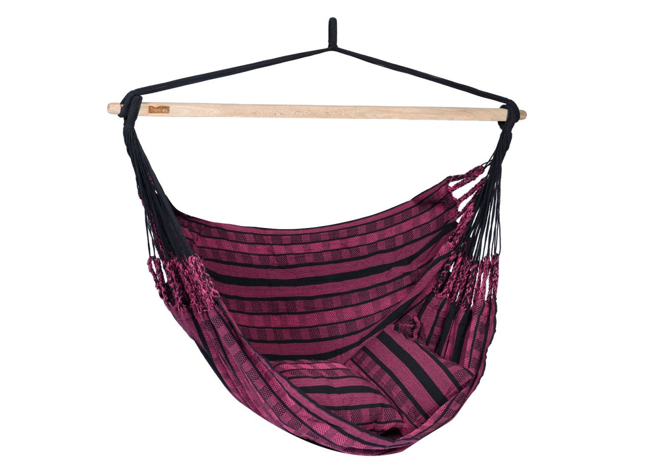 Hanging Chair 2 Persons Black Edition Rose