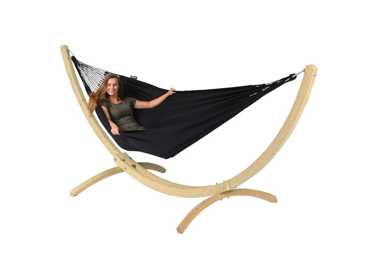 Hammock 2 Persons Comfort Black